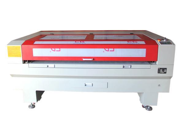 GY-1610 cloth garment accessories laser cutting machine.